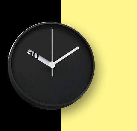 sweep-metal-wall-clock